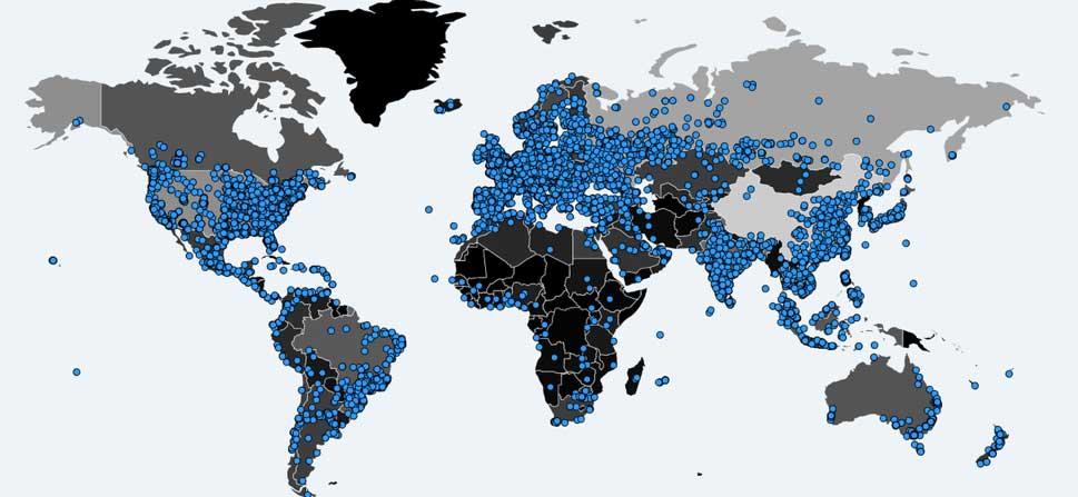 WannaCry Map