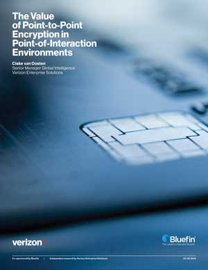 The Value of PCI-validated Point-to-Point Encryption (P2PE) in Point of Interaction (POI) Environments