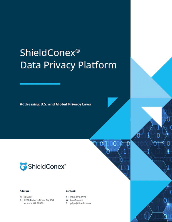 ShieldConex Data Privacy