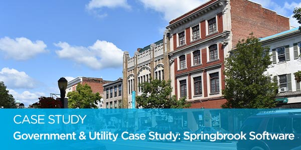 Government & Utility Case Study: Springbrook Software